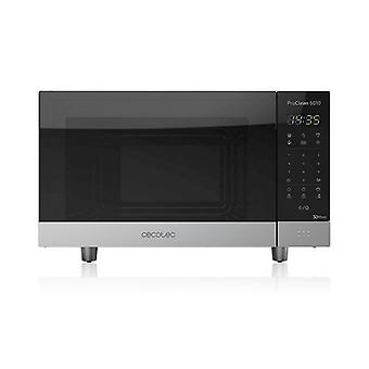 Microwave with grill Cecotec ProClean 6110 23 L 800W silver black