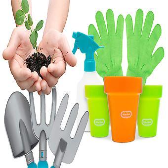 Kleine Tikes kinderen tuinman tool set