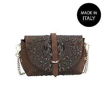 Leather pochette made in Italy 10031