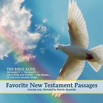 Bible Alive - Bible Alive: Vol. 1-Favorite New Testament Passages [CD] USA import
