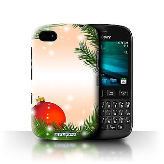 STUFF4 Case/Cover voor Blackberry 9720/Bauble/boom/Kerst decoraties