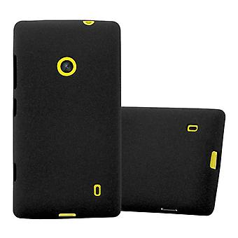 Cadorabo Hülle für Nokia Lumia 520 Case Cover - Handyhülle aus flexiblem TPU Silikon – Silikonhülle Schutzhülle Ultra Slim Soft Back Cover Case Bumper