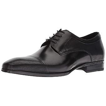 Kenneth Cole New York Mens KMU8030LE Leather Lace Up Dress Oxfords