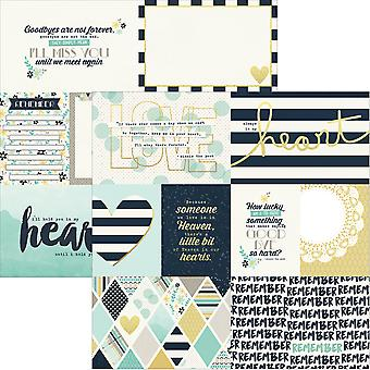 Simple Sets Heart Double-Sided Elements Cardstock 12