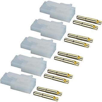 Battery receptacle Tamiya Gold-plated 1 Set Modelcraft