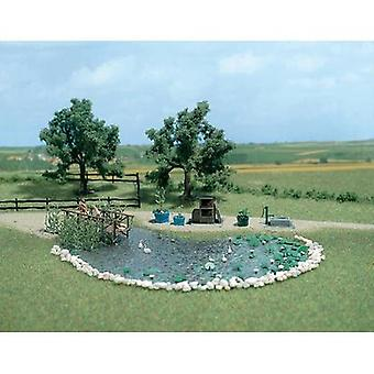 Garden pond set 1 Set Busch 1210