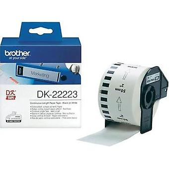 Brother Labels (roll) 50 mm x 30.48 m Paper White