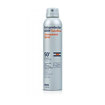 Isdin Pediatric Transparent Spray 50+ (Kinderen , Cosmetica , Body lotions)