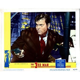 Третий человек Orson Welles 1949 фильм плакат Masterprint