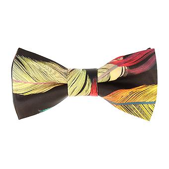 Pop art of ties fly tied bow tie faux leather black springs