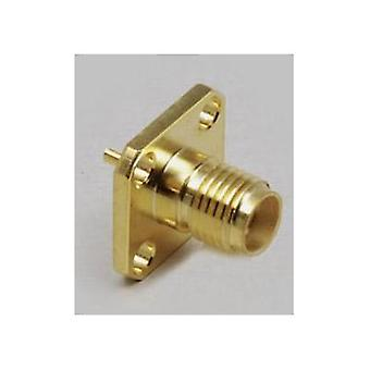 SMA connector Socket, vertical vertical 50 Ω BKL Electronic 1 pc(s)