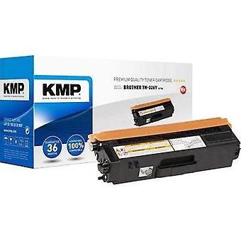 KMP Toner cartridge replaced Brother TN-326Y Compatible Yellow 3500 pages B-T64