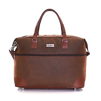Cabina Karabar Berwyn aprobados bolsa, marrón