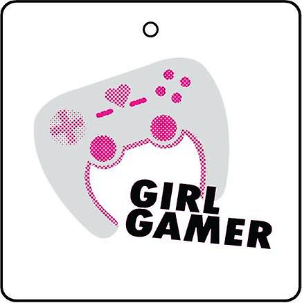 Girl Gamer Car Air Freshener