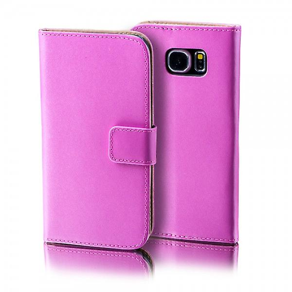 Wallet Deluxe bag pink Samsung Galaxy S6 edge plus G928 F
