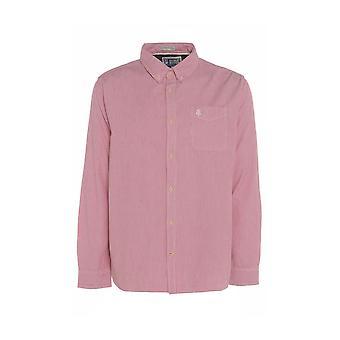 Men's Pink Striped Shirt with Pocket TP563-L
