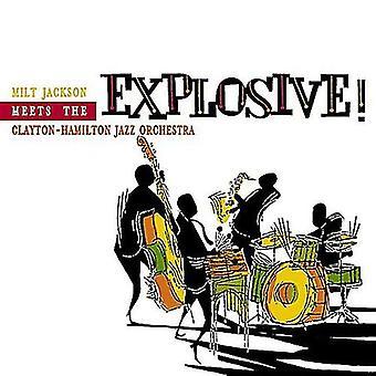 Milt Jackson & Clayton-Hamilto - Explosive [CD] USA import