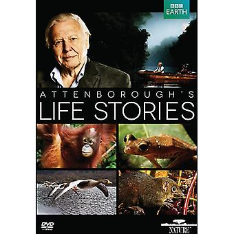 David Attenborough: Life Stories [DVD] USA import