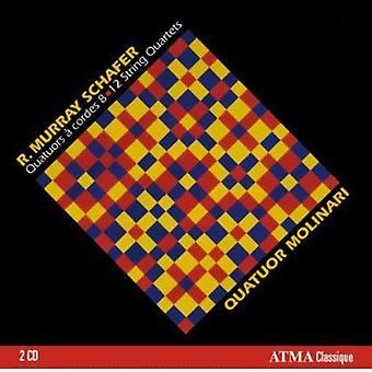 R. Murray Schafer - R. Murray Schafer: quartetti per 8-12 [CD] importazione USA