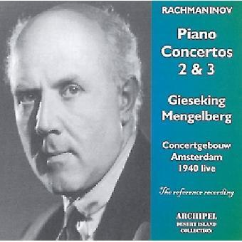 S. Rachmaninoff - Con Pno 2 Op. 18/3 Op. 30 [CD] USA import