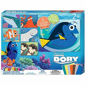 Finding Dory Fun-Tiles Jr. Color Matching Kit
