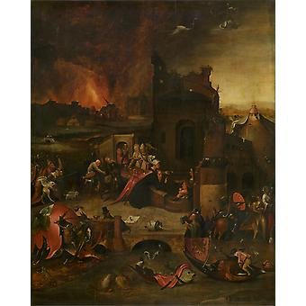 Hieronymus Bosch - Egypte Poster Print Giclee