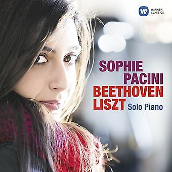 Sophie Pacini - Beethoven Liszt Solo Piano [CD] USA import