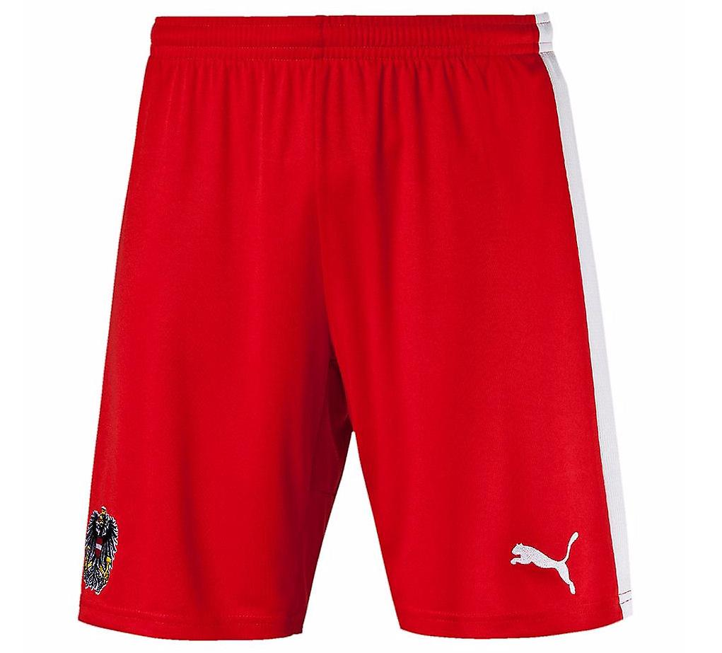 2016-2017 Austria Puma Home Shorts (Red)
