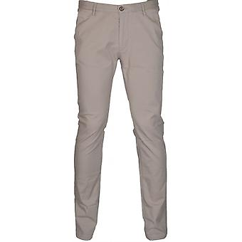 Hugo Boss Green Rice3-d Slim Fit Stretch Beige Chino