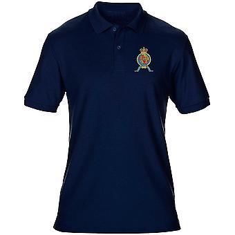 HMS Victory broderad Logo - officiell Royal Navy Mens Polo Shirt