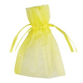 Club Green Small Organza Wedding Pouch (Pack Of 10)