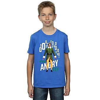Elf Boys Angry Elf T-Shirt