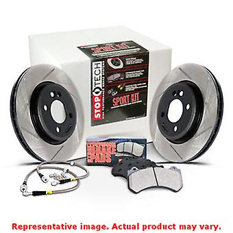 StopTech Sport Kits 977.34015R Rear Fits:BMW 2009 - 2011 335D  2007 - 2011 335I