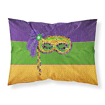 Carolines Treasures  8384PILLOWCASE Mardi Gras Moisture wicking Fabric standard