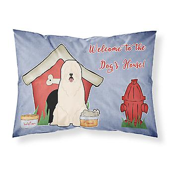 Dog House Collection South Russian Sheepdog Fabric Standard Pillowcase