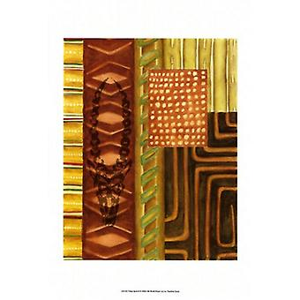 Tribal Spirit II Poster Print by Chariklia Zarris (11 x 14)