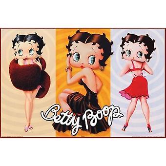 ベティ ・ ブープ - トリオ ポスター ポスター印刷
