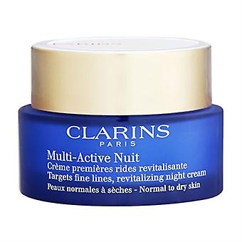 Clarins Multi-Active Nuit crema de noche Normal - seca piel 1.7 oz/50 ml