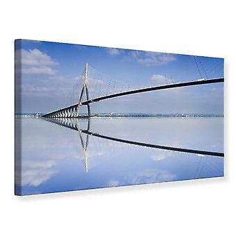 Leinwand drucken, die Pont de Normandie
