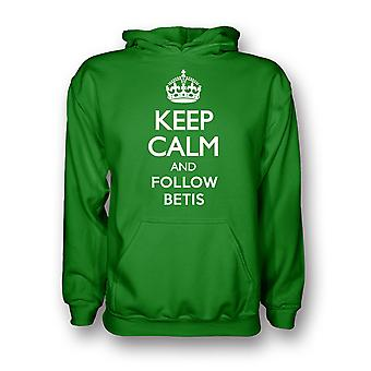 Keep Calm And Follow Real Betis Hoody (green) - Kids
