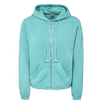 Comfort Colors Womens/Ladies Zipped Hooded Sweatshirt