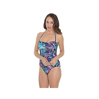 Seaspray SY007047 Women's Multicolour Motif Costume One Piece Swimsuit