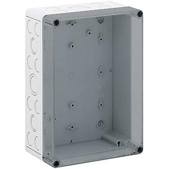 Build-in casing 180 x 254 x 111 Polycarbonate (PC) Light grey S