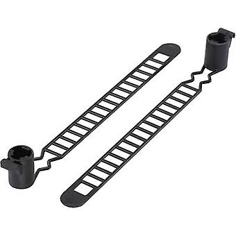 Cable tie 120 mm Black KSS 1091257