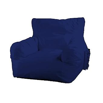Big Daddy bean bags bean bag armchair with side pocket Indoor Outdoor Blau