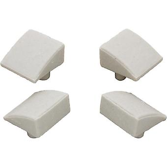 Hayward AXV014CP Ceramic Pod Shoes for Pool Cleaner Set of 4