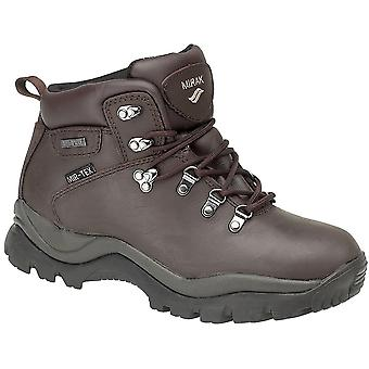 Mirak Mens Nebrasaka Waterproof Breathable Hiking Boot Brown