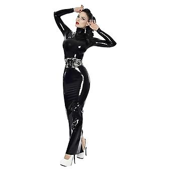 Westward Bound Proserpine Hobble Latex Rubber Dress