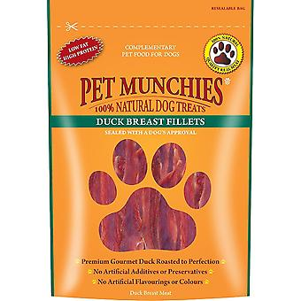 Pet Munchies Dog treat Duck Fillet 100 g (Pack of 8)