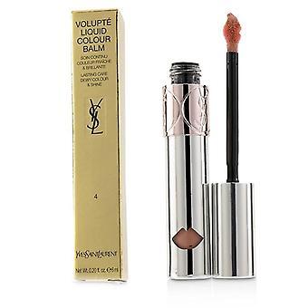 Yves Saint Laurent Volupte flydende farve Balm - # 4 udspionere mig nøgen - 6ml/0,2 ounce